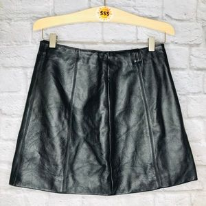 Wilson's Leather authentic Leather Mini Skirt 8
